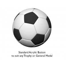 Soccer Acrylic Button
