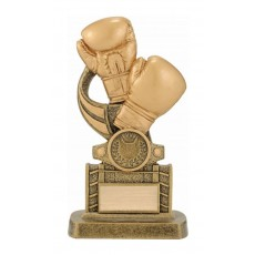 Boxing Trophy with Ringside