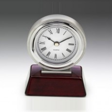 Clock Chrome on Timber Base