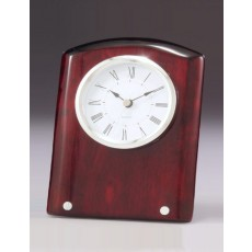 Clock Piano Finish with Metal Trim