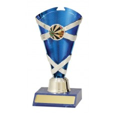Darts Trophy Cup Blue