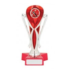 Music Trophy, Red & Silver Cup