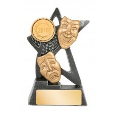 Drama Star Resin Trophy