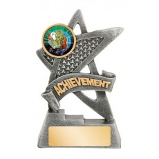 Achievement Star Resin Trophy