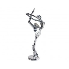 23. Ballerina, 'Arabesque' Silver Finish on Base