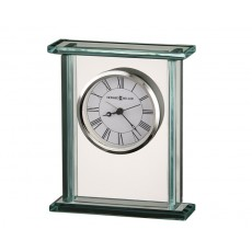 "19. ""Howard Miller"" Cooper Glass Table Clock"