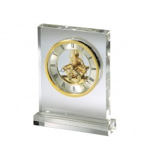 "32. Howard Miller ""Prestige"" Crystal Clock"