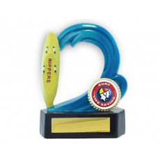 19. Nippers Surf Life Saving Resin Trophy