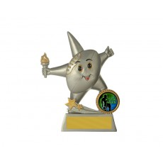 39. Basketball Little Star Series Resin Trophy