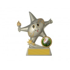 47. Aussie Rules Little Star Series Resin Trophy