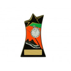 07. Medium Track/Athletics Shooting Stars Resin Trophy