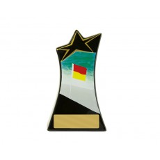 11. Large Surf Life Saving Shooting Stars Resin Trophy