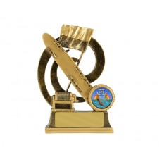 "09. Large Surf Life Saving ""Wave Series"" Resin Trophy"