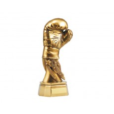 Boxing Golden Glove Resin Trophy