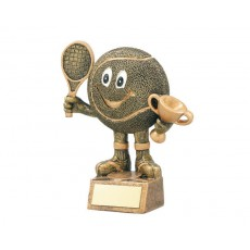 04. Tennis Character Resin Trophy