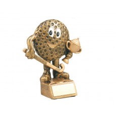 24. Hockey Character Resin Trophy