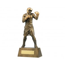Action Boxing Resin Trophy