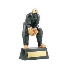55. Cricket Wicket Keeper Resin Trophy