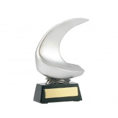 Sailing Boat Abstract Resin Trophy