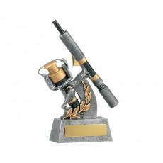 Fishing Reel Resin Trophy