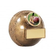 Cricket Ball Resin Trophy