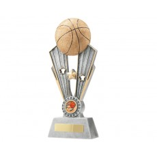 Basketball Fame Star Resin Trophy