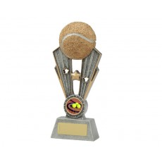 30. Medium Tennis Fame Resin Trophy