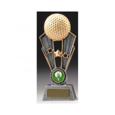 Golf 'Fame' Resin Trophy