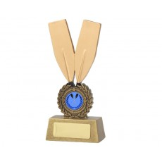 02. Medium Rowing Oars Resin Trophy