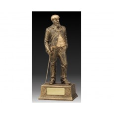 07. Golf 'Old Tom Morris' Resin Trophy