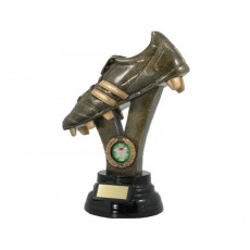 Rugby Boot Resin Trophy