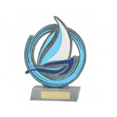 Sailing 'Horizon' Resin Trophy