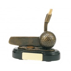 56. Golf Putter Resin Trophy