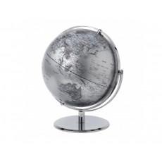 14. Globe Collection 30cm Silver Globe