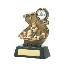 Go Kart Resin Trophy