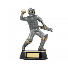 Cricket Batter Resin Trophy