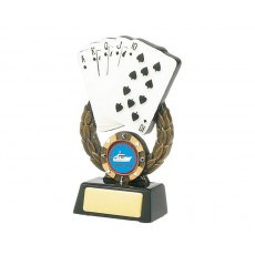 01. Cards/Poker Resin Trophy
