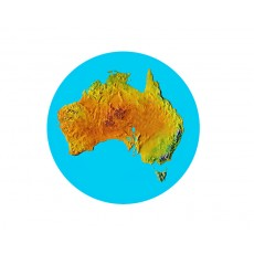 Australia - Map Acrylic Button
