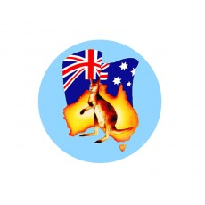 Australia - Flag Acrylic Button