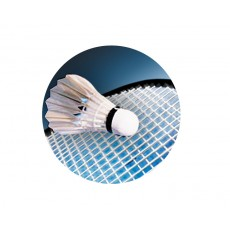 Badminton Acrylic Button