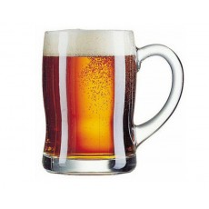 05. Luminarc Glass Beer Mug, Ben, 15 3/4 Oz