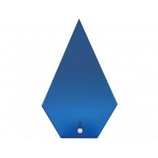 """Blue """"Arrowhead' Glass Award"""