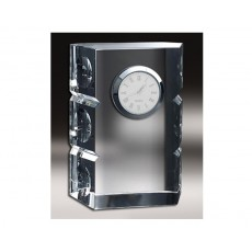 01. Crystal Cut Dimpled Clock