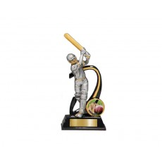 Cricket Batsman Male Resin Trophy