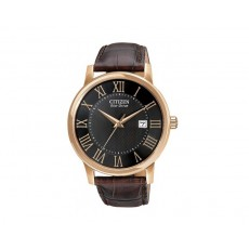 03. Citizen Men's Rose Gold Eco-Drive Watch