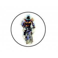 BMX Acrylic Button