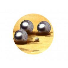 Bocce Acrylic Button