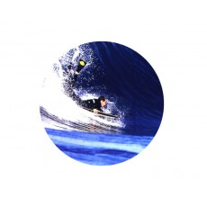 Body Surfing Acrylic Button