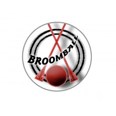 Broomball Acrylic Button