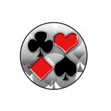 Cards / Poker Acrylic Button